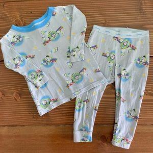 BABYGAP DISNEY Buzz Lightyear 2pc Pajama Set 12-18